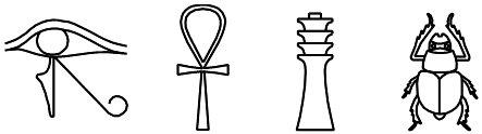 Hieroglyphen: Kunst und Magie